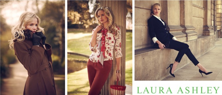 Charlotte for Laura Ashley