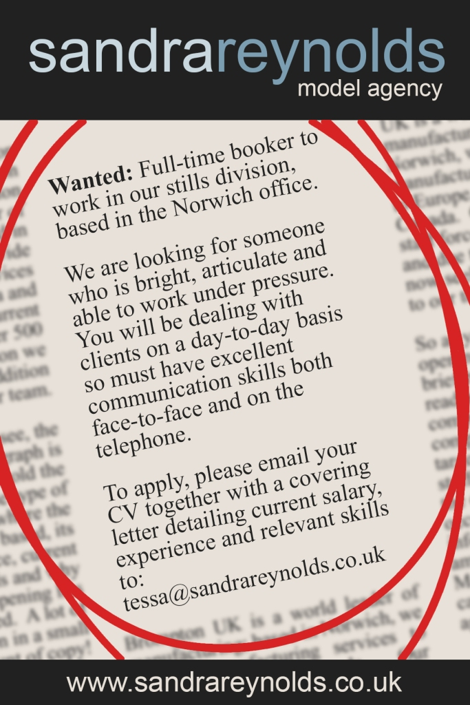 Job advert