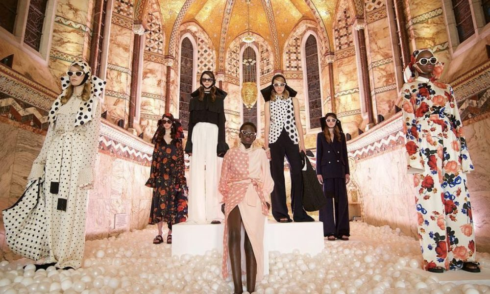 Mother of Pearl presentation for London Fashion Week AW19